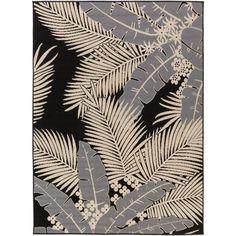Artistic Weavers Burrageara Gray 3 ft. 11 in. x 5 ft. 3 in. Indoor/Outdoor Area Rug-S00151022959 - The Home Depot