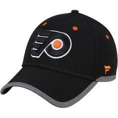 separation shoes f3447 8810f Men s Fanatics Branded Black Philadelphia Flyers Static Speed Stretch Fit  Flex Hat