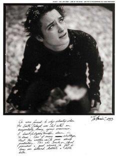 Elijah Wood photographed by Viggo Mortensen