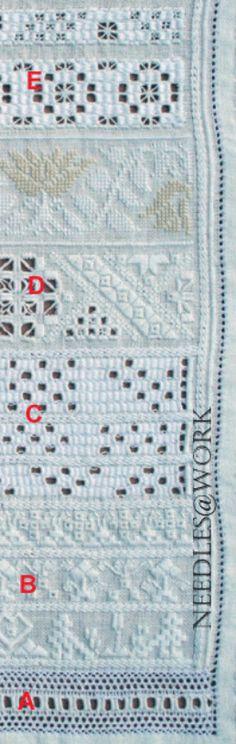Needlework from Marken/Handwerk van het eiland Marken #NoordHolland #Marken