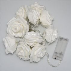 20 Warm White LED Battery Operated Rose Flower Fairy string Lights bedroom decoration wedding decoration led Christmas light, View led light, BaoGuang Product Details from Linhai Baoguang Lighting Co., Ltd. on Alibaba.com