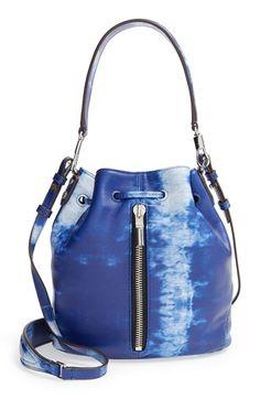941d645937ff Elizabeth and James  Mini Cynnie - Indigo Tie Dye  Bucket Bag available at