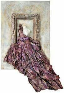 Paper Mache Sculpture, Pottery Sculpture, Sculpture Art, Grave Decorations, Collage Book, World Wallpaper, Paper Wall Art, Diy Art Projects, Painting Of Girl