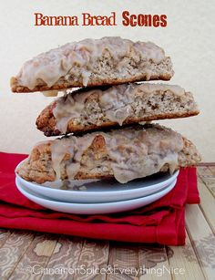 Banana Bread Scones Recipe