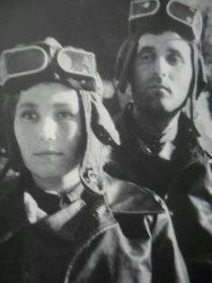 Married Soviet tank crew, from tank museum in Bovington, Dorset