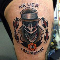 rorschach tattoo - Buscar con Google