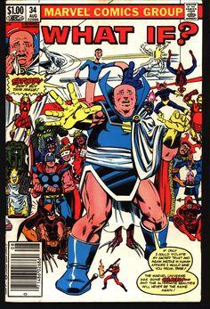 WHAT IF 34 Spiderman X-Men Fantastic Four Daredevil Avengers Bill Sienkiewicz Frank Miller John Byrne John Romita Jr Crazy Newstand Comics
