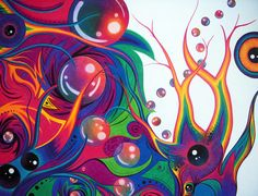 abstract color drawing - Google Search