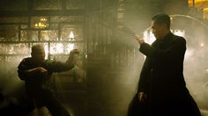 """Tony Leung as Ip Man in Wong Kar Wai's """"The Grandmaster,"""" one of the best kung fu films I've seen in ten years. Ip Man, Zhang Ziyi, Kung Fu Movies, Den Of Geek, Chinese Martial Arts, Still Frame, Wolf Of Wall Street, Cinematic Photography, Movie Blog"""