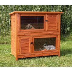 Natura 2-in-1 Small Animal Hutch With Insulation