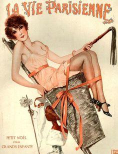 Illustration by Georges Leeonnec For La Vie Parisienne December 1927