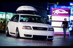 Audi Allroad by Rotiform... 500hp? 19x10's up front? 19x11's out back? Seems good.