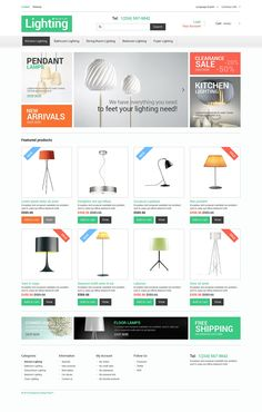 Lighting Store PrestaShop