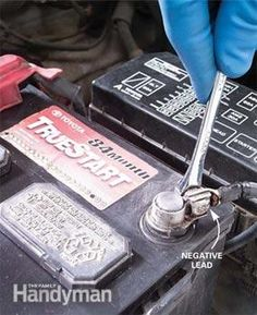 changing the car battery