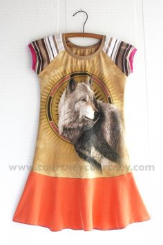 golden #courtneycourtney #eco #upcycled #recycled #repurposed #tshirt #vintage #dress #girls #unique #clothing #ooak #designer #upscale #silkscreen #modern #gold #dyed #orange