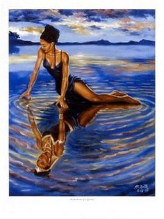 Reflections of a Queen A.C. Smith Fine Art Print Poster