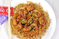 Panda Express Orange Chicken with tender chicken thighs fried crisp and tossed in a magical perfect-copycat sauce! Ww Recipes, Copycat Recipes, Asian Recipes, Chicken Recipes, Dinner Recipes, Cooking Recipes, Ethnic Recipes, Chinese Recipes, Dinner Menu
