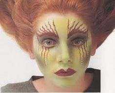 halloween eye makeup ideas | http://www.eye-makeup-ideas.com/2011/10/halloween-makeup-witch.html