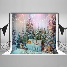 Find More Background Information about Kate Christmas Winter Backdrops Photography Forzen Forest Backgrounds For Photo Studio Christmas Light  Fantasy Photo Backdrop,High Quality Background from Marry wang on Aliexpress.com