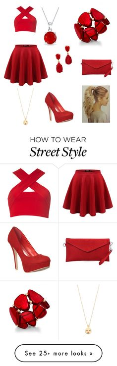 """Street chic"" by joverdahl on Polyvore featuring Motel, Kenneth Jay Lane, Bling Jewelry, Kate Spade and Style & Co."