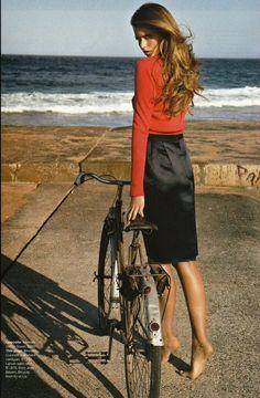 Abbey Lee Kershaw. Vogue Australia 2009.