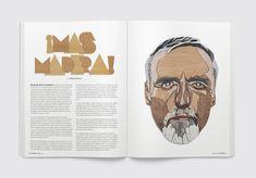 YOROKOBU Magazine by Luis Vicente Hernandez, via Behance
