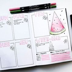 Want some ideas for beautiful pink bullet journal spreads? We've hunted for our favorites and picked out 17 amazing pink bullet journal spreads to inspire you! Bullet Journal Spreads, Bullet Journal June, Bullet Journal Themes, Bullet Journal Layout, Diy Pour La Rentrée, Bellet Journal, Weekly Log, Journal Organization, Journal Inspiration