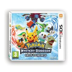 Pokemon Mystery Dungeon Gates To Infinity Game 3DS Discover the incredible 3D world of Pokeacute