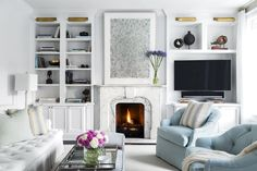 Get inspired by Traditional Living Room Design photo by Chango & Co. Wayfair lets you find the designer products in the photo and get ideas from thousands of other Traditional Living Room Design photos. Living Room Grey, Home Living Room, Living Room Designs, Living Room Decor, Living Spaces, Small Living, Modern Living, Living Area, Deco Design Pas Cher