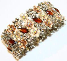 """Floral Affair #5705 - 7"""" Stretch Bracelet Premier Designs"""