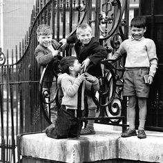 Islington doorstep kids: FREDERICK WILFRED