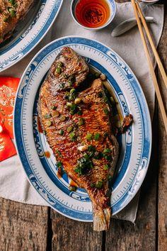Pan-fried Fish, by thewoksoflife.com