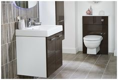 The stylish della monoblock basin mixer is the ideal finishing touch for this contemporary washbasin unit Fitted Bathroom Furniture, Dark Bathrooms, Uk Brands, Modular Furniture, Basin Mixer, Bathroom Inspo, Touch, Contemporary, Stylish