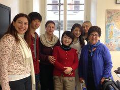 Beginners' class, March 2015  #Florence #Firenze www.istitutoeuropeo.it