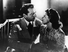 "Paul Henreid (1908–1992, age 34) as Victor Laszlo and Ingrid Bergman (1915–1982, age 27) as Lisa Lund in ""Casablanca"", 1942 #actor #still"