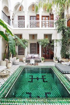 Morocco - 25 Incredible Rooms From 25 Different Countries - Photos
