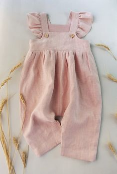 Powder baby linen romper toddler jumpsuit girls linen overall Cute Baby Clothes Baby Girls Jumpsuit linen powder romper toddler Baby Girl Fashion, Kids Fashion, Toddler Fashion, Fashion Wear, Curvy Fashion, Fall Fashion, Overall Kind, Baby Outfits, Kids Outfits
