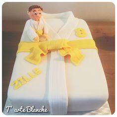 Judo cake Judo taart