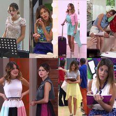 Os looks da #Violetta era os melhores 👗👖👚👗👕 Disney Dresses, Disney Outfits, Celebrity Couples, Celebrity News, Violetta Outfits, Best Kids Watches, Summer Outfits, Cute Outfits, Disney Shows