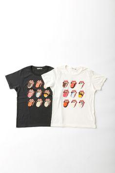 ザ・ローリング・ストーンズのロゴが寿司に?ビューティフル ピープルとコラボ  Image from Fashionsnap.com