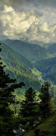 Outdoor Travel: Pir Panjal Peaks, Gulmarg, Kashmir