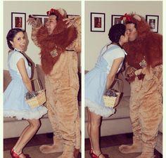 Wizard of Oz couple costume idea