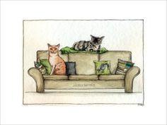 1482 Leeloo & Ooni besetzen das Sofa