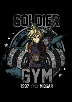 Soldier, Gym • Final Fantasy VII
