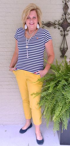 50 IS NOT OLD | STRIPES ARE A HUGE TREND