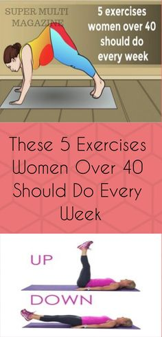 These 5 Exercises Women Over 40 Should Do Every Week - Super Multi Magazine