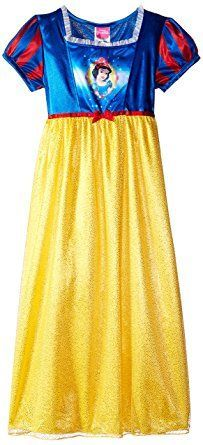 47b80c4054 Disney Big Girls  Snow White Fantasy Nightgown Princess Outfits