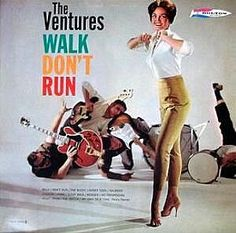 The Ventures - it's been awhile since I've listened to any surf music but it's good for the soul.
