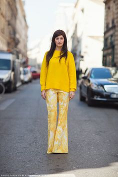 Look do Dia: Total Amarelo #monochrome #lookoftheday