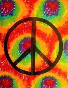 Tye Dye Peace Man ☮
